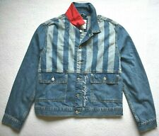 Tommy Hilfiger Mens Front Button Denim Jacket Size: XL