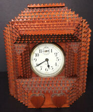 Vintage Folk Art Tramp Art Clock Case