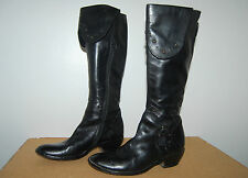 SAN MARINA botte cuir noir pointure 36