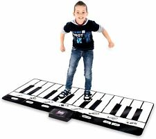 Giant Piano Mat - Jumbo Floor Keyboard with Play, Record, Playback and Demo Mode