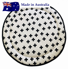 NEW Padded Round baby Play Mat Tummy Time