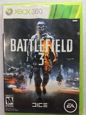 Battlefield 3 in Great Condition For Xbox 360 no Manual