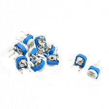 10Pcs 5K Ohm Single Turn Potentiometer Pot Rotary Variable Resistor BT