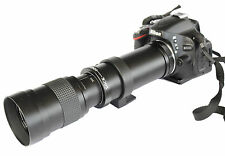 420-800mm f8.3-16 Telephoto Lens for Nikon D3000 D3100 D3200 D5100 D5200 D5300