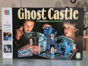 Ghost Castle MB Games 1985 Complete Vintage Board Game Retro Scary Haunted Rare
