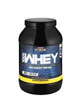 ENERVIT GYMLINE MUSCLE -100% WHEY PROTEIN CONCENTRATE-SCAD. 25/04/21-92704-BANAN