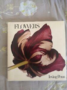 Livre Flowers Irving Penn. Firs edition