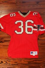 Vintage Atlanta Falcons RUSSELL Used Game Football Jersey 1980s size 42
