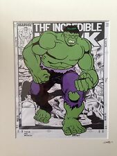 The Incredible Hulk - Marvel Comics - Hand Drawn & Hand Painted Cel