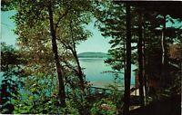 Vintage Postcard - Hemlock Hall Blue Mountain Lake New York NY #3800