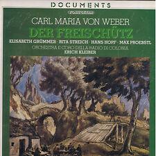 Weber DER FREISCHUTZ Grummer Streich Hopf Proebstl - box 3 LP Fonit Cetra SEALED