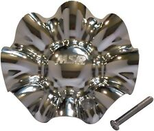 NEW MSR SERIES 148 WHEEL RIM CHROME CENTER CAP ACC 3112 06 WITH SCREW INCLUDED