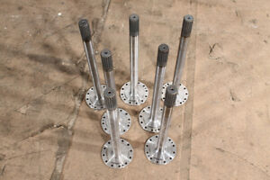 Axle Shaft Stub Shaft Welle Designer Table Frame Industrial Design Table Legs