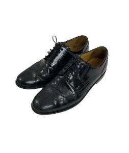 Cole Haan  Men's Size 10.5 M Black Wingtip Oxford Brogue Dress Shoes