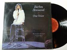 Barbra Streisand One Voice [Vinyl LP Record] 1987 바브라 스트라이샌드