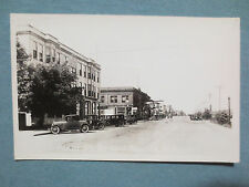 RPPC GRAND RAPIDS MINNESOTA PHOTOGRAPH-MAIN STREET IN THE 1930S-GREAT CARS