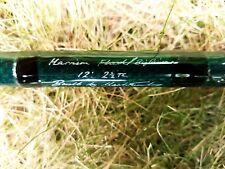Harrison Torrix 12' 2.5TC Big River/Flood Barbel Rod.(Built By Mark Tunley!)