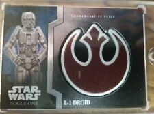 L-1 Droid Rebel Patch Topps Stars Wars Rogue One