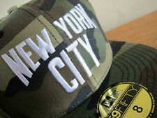 John Lennon New York City Camo 59FIFTY Fitted Cap sz 8 hat yankees beatles era