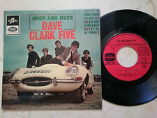 The Dave Clark Five over and Over Rare French 60s E-Type Jaguar 4 Track EP