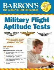 NEW Barron's Military Flight Aptitude Tests, 3rd Edition by Terry Duran