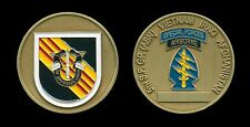 Challenge Coin - US Army 5th SFG Special Forces Group Vietnam colors Iraq Afghan