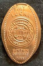Copper! Texas Hold'Em Poker - Las Vegas Nevada Lucky Pressed Penny