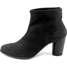 Arche Kleri Women's Suede Round Toe Leather Black Bootie 9308 Size 36 EU / 5 US