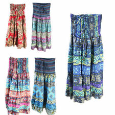Unbranded Cotton Blend Floral Skirts for Women