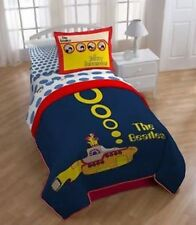The Beatles Yellow Submarine Twin Comforter Blanket Bravado NEW