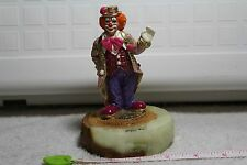"""Rare Vintage """"Ron Lee"""" """"Hey There"""" Clown 5 1/2"""" Sculpture Le Signed 1997"""