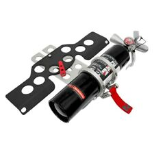Rennline Black Dry Chemical Fire Extinguisher & Mount Package