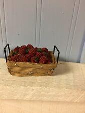 Boyds Bears Sweetie Pies 1994 Raspberry Basket