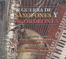 Conjunto Primavera Chuy Vega exterminador Guerra De Saxofones Y Acordeones CD