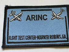 Arinc Flight Test Center Patch (#3103) Collector Aviation Related Patch