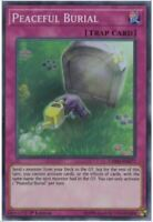 Yugioh! Peaceful Burial - CHIM-EN077 - Super Rare 1st Edition Mint/NM X1 English