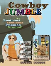 Cowboy Jumble: The Rootinest, Tootinest Puzzles Around! (Paperback or Softback)