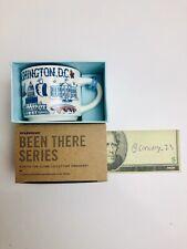 STARBUCKS COFFEE WASHINGTON DC BEEN THERE 2-OZ MINI MUG ORNAMENT - NEW IN BOX