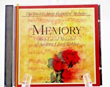 MEMORY-BEST LOVED MELODIES-ANDREW LLOYD WEBBER-(CD) READER'S DIGEST- SEALED