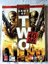 62350 Army Of Two The 40th Day Prima Official Game Guide