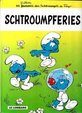 PEYO--LES SCHTROUMPFS schtroumpferies--Editions LE LOMBARD pub esso