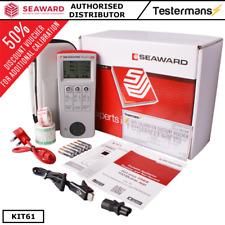 Seaward Primetest 100 Pat Tester KIT61 W/ Accessories Calibration and Software