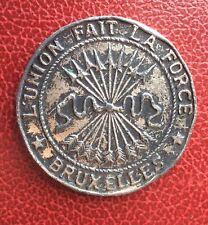 Belgique - Rare Médaille du Congrès du Parti Libéral de 1846