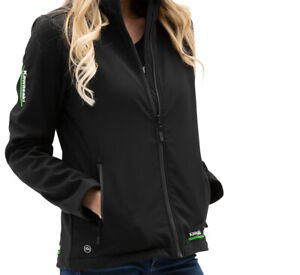 KAWASAKI Women's Kawasaki 3 Green Lines Soft Shell Jacket LG