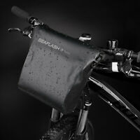 Waterproof Bicycle Handlebar Front Frame Storage Bag 5L Large Capacity