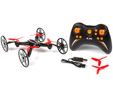3 IN 1 RC DRONE QUADCOPTER 4 CHANNEL STUNT 2.4GHZ SPY 6 AXIS FLYING WHEELS WALL