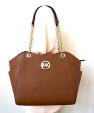 Michael Kors MK Jet Set Travel Large Chain Tote Shoulder Bag Handbag Luggage New