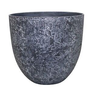 Northcote Pottery DUST GREY LUNAR BOWL 35x15cm High Density Resin *Aust Brand