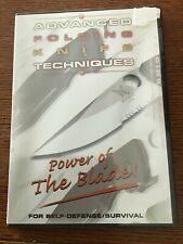 Advanced Folding Knife Techniques Self Defense Martial Arts Dvd