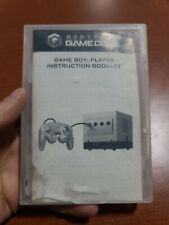 Nintendo GameCube GameBoy Player Case & instruction booklet Only No Disk